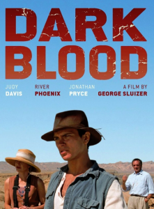 dark blood affiche