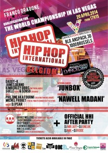 hip hop international belgium affiche