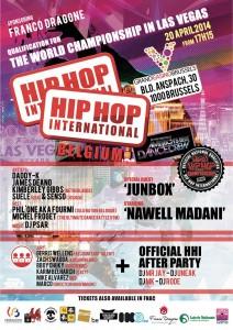 hip hop international belgium affiche