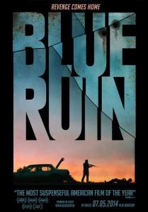 blue ruin affiche