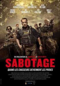 sabotage affiche