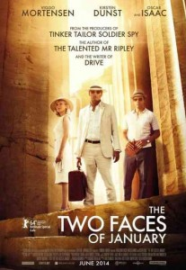 the two faces of january affiche
