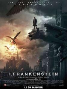 i frankenstein affiche