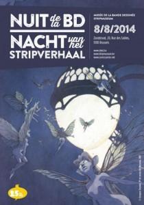 nuit de la bd 2014 affiche