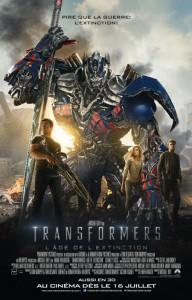 transformers age de l extinction affiche