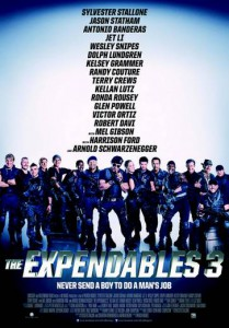 the expendables 3 affiche