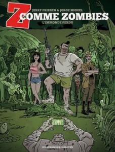 z comme zombies l'immonde perdu tome 2 couverture