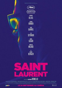 saint laurent affiche