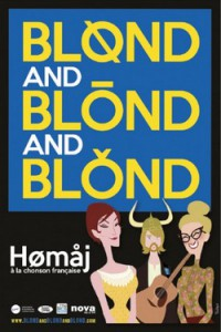 blond and blond and blond affiche