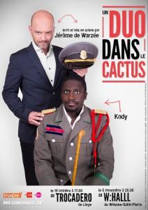 un duo dans le cactus affiche