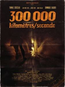 300000 km seconde affiche