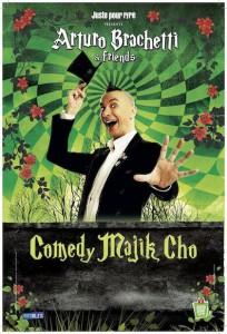 comedy majik cho affiche