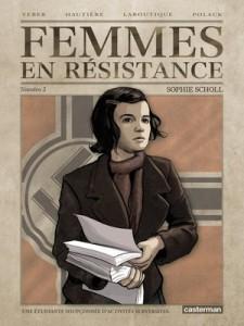 femmes en résistance tome 2 sophie scholl couverture