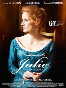 mademoiselle julie affiche