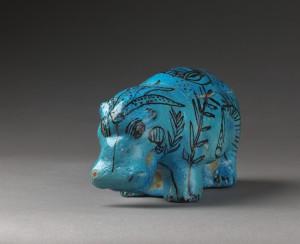Lens hippopotame