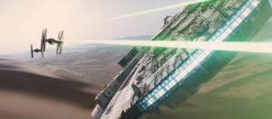 star wars 7 falcon millenium