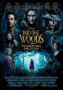 into the woods affiche
