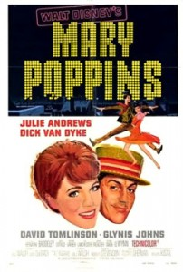 mary poppins affiche old