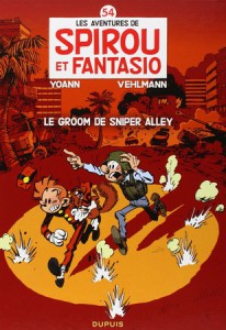 spirou le groom de sniper alley couverture