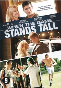 when the game stands tall affiche