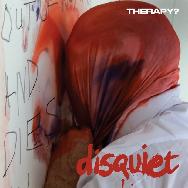 Therapy DISQUIET front cover