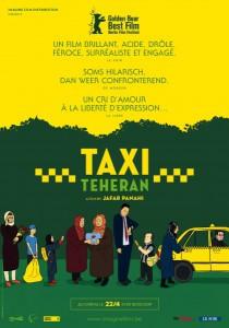 taxi teheran affiche