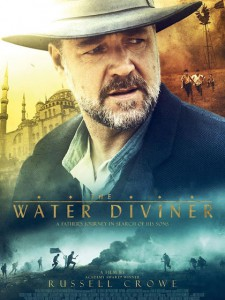 the water diviner affiche