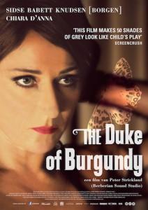 the duke of burgundy affiche