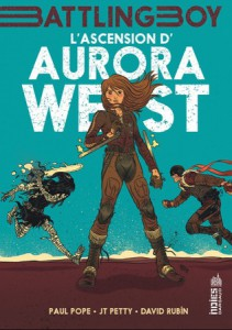 L'ascension d'Aurora West couverture