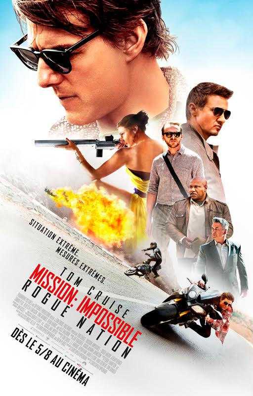 affiche mission impossible 5
