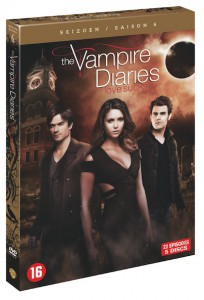 dvd vampires diaries s6