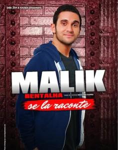 malik bentalha se la raconte poster