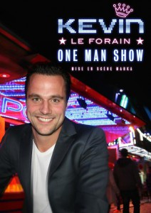 kevin le forain one man show poster