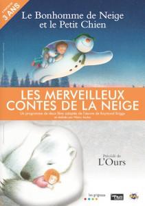 les merveilleux contes de la neige poster