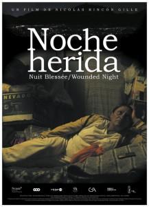 noche herida poster