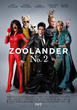 zoolander 2 affiche