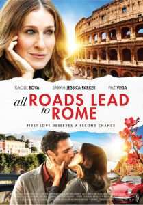 all roads lead to rome poster