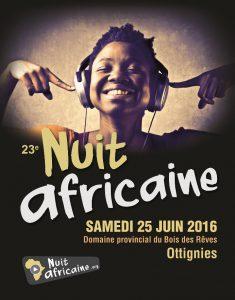 Nuit africaine affiche