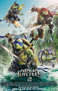ninja turtles 2 poster