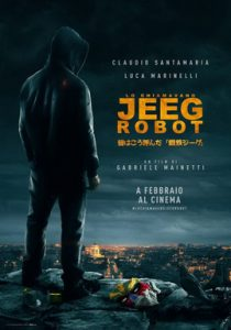 they call me jeeg robot poster
