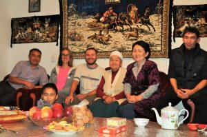 La famille Asel au Kirghizstan