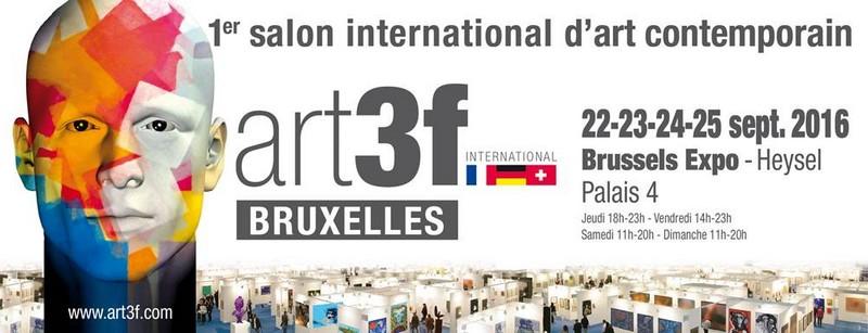 Art3f un salon d 39 art autrement gagnez 5x2 places for Salon bruxelles novembre 2017