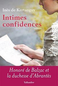 Balzac Intimes confidences
