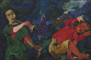 The Power of Music, tableau d'Oskar Kokoschk
