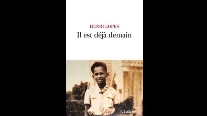 """Couverture du livre """"Il est déjà demain"""" d'Henri Lopes"""
