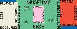 Bannière des Nocturnes des Musées bruxellois