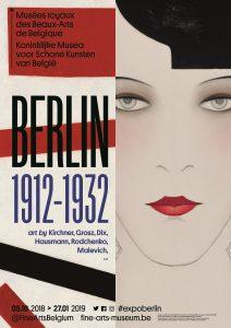affiche de l'expo Berlin 1912-1932