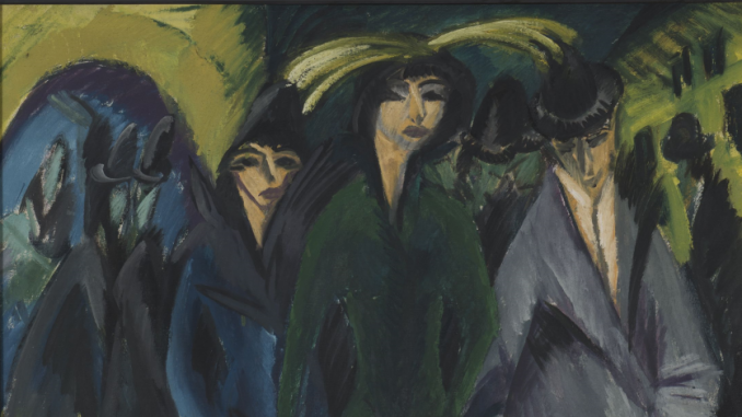Tableau d'Ernst Ludwig Kirchner