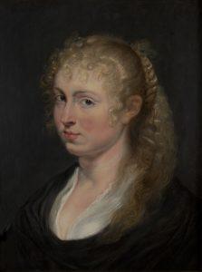 Portrait d'une jeune femme aux cheveux bouclés, 1618–1620 par Peter Paul Rubens