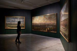 Photographie du Salon des trois villes dans l'exposition Arenberg au M-Museum Leuven